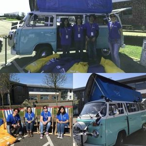 What do you want to do when you're older? Have you found the answer yet? We have been out in our camper van of inspiration popping up in Cornwall this week to help you get some answers #outreachworks #wearencop @brannel.school @the.cornwall.camper.company