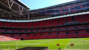 What's it like to live, work and learn at UCFB Wembley?️ We recently organised for prospective year 12 students from Torquay Academy and Paignton Community & Sports Academy to come with us to UCFB Wembley campus, situated inside the iconic Wembley Stadium. Students enjoyed a truly unique insight and experience. . . . #wembley #ucfbwembley #sportstudies #wearencop