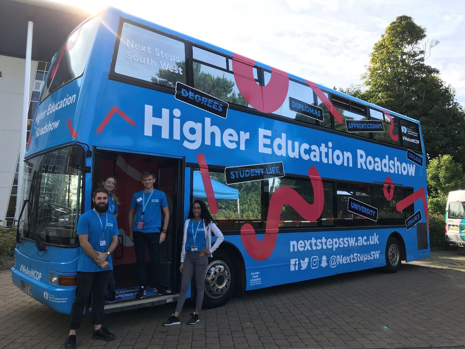 get on board the higher education roadshow 2018