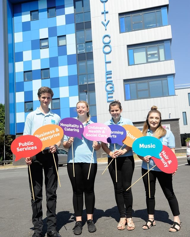 City College Plymouth Open Day