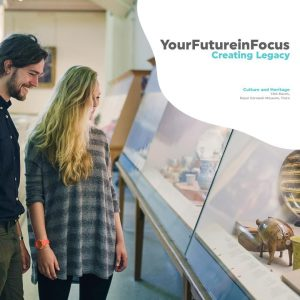 Creating Legacy, a culture and heritage experience that will go down in history! Come along to the Royal Cornwall Museum - Truro on the 13th of March and involve yourself with industry professionals, whilst exploring the museum with exciting workshops.⠀ Register your interest on our website!⠀ #YourFutureinFocus
