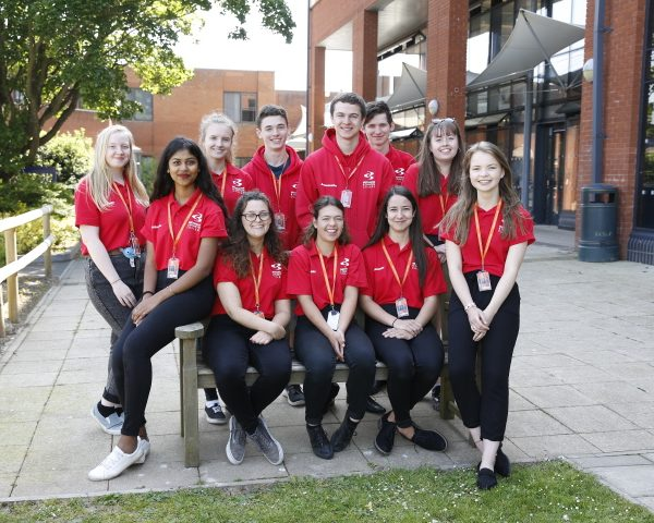 A win-win for student ambassadors