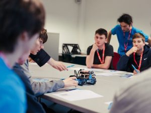 Cornish Robotics & Engineering Convention⠀ The day was full of exciting workshops, where students got to meet industry professionals and experience first hand the awesome capabilities that computers and tech create.⠀ #Nextstepssw #wearencop #Tech #Computers #Engineering