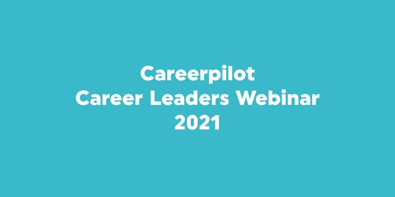 Career Leaders Webinar