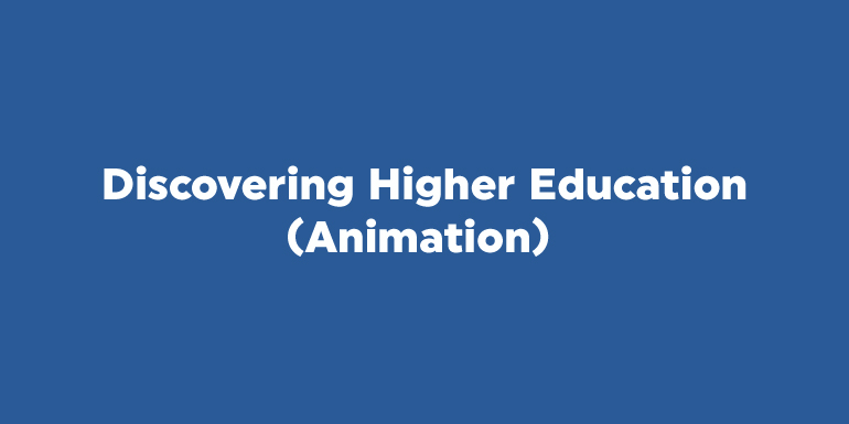 Discovering Higher Education