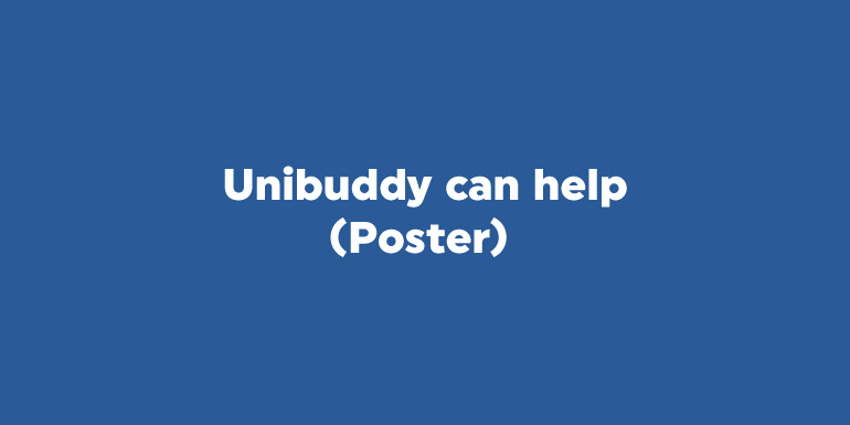 Unibuddy can help