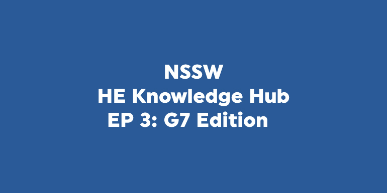 HE Knowledge Hub Podcast - G7 Edition